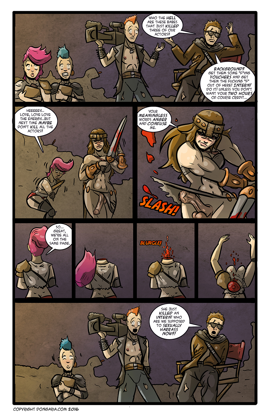 Babes of Dongaria Chapter 3 Page 4: Breaking Into The Biz