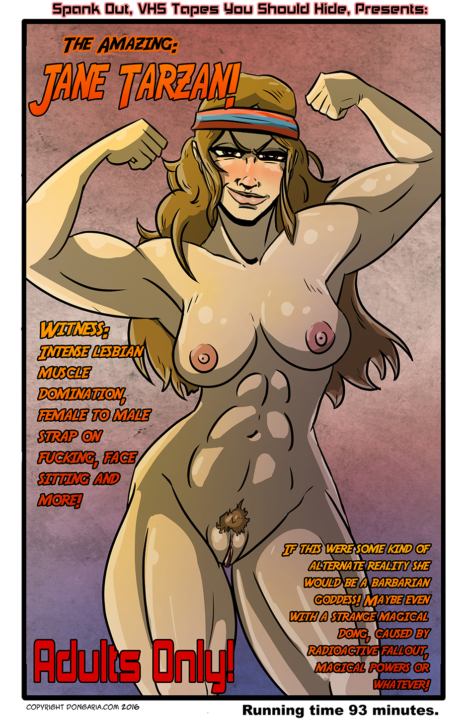 Babes of Dongaria Chapter 3 Page 7: A Closer Look At The Poster...