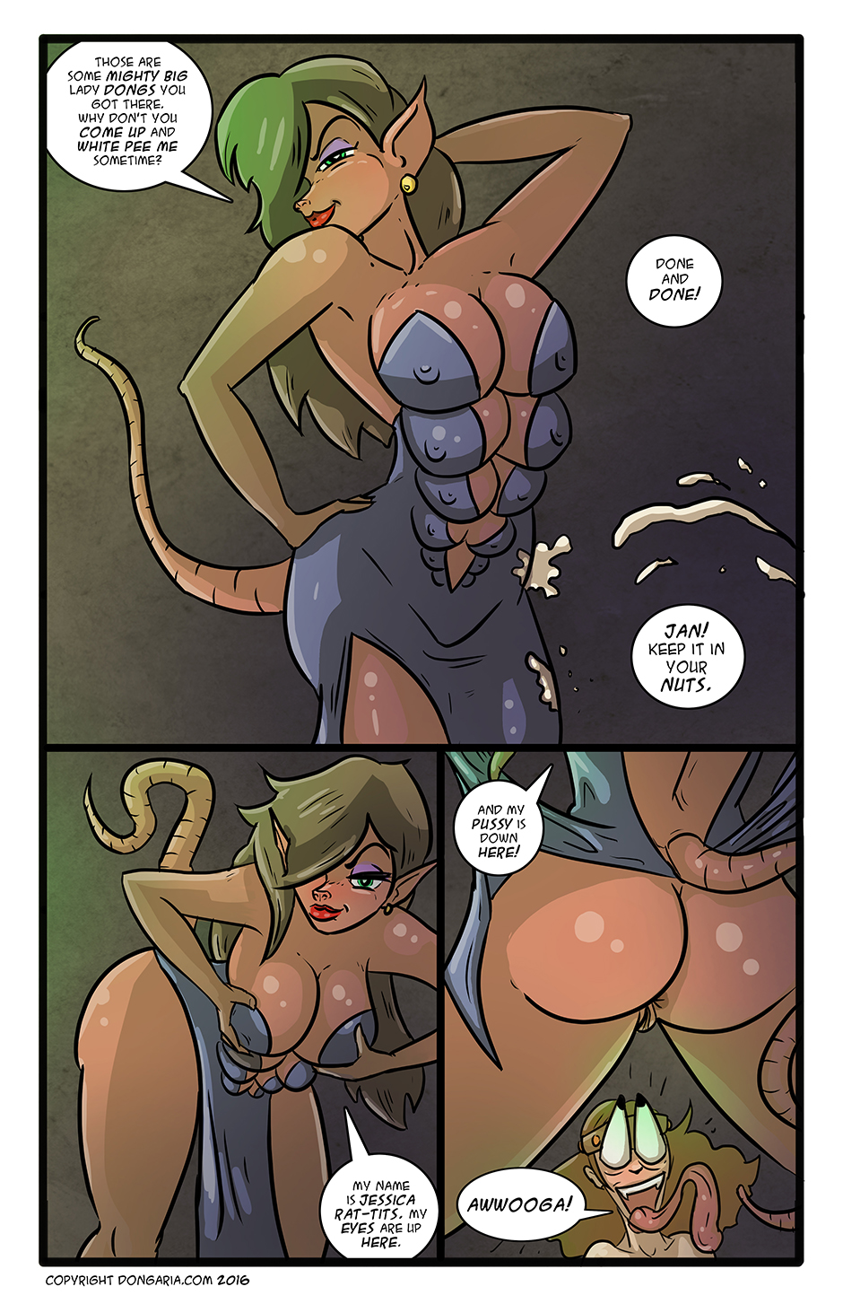 Babes of Dongaria Chapter 3 Page 15: Vavooom!
