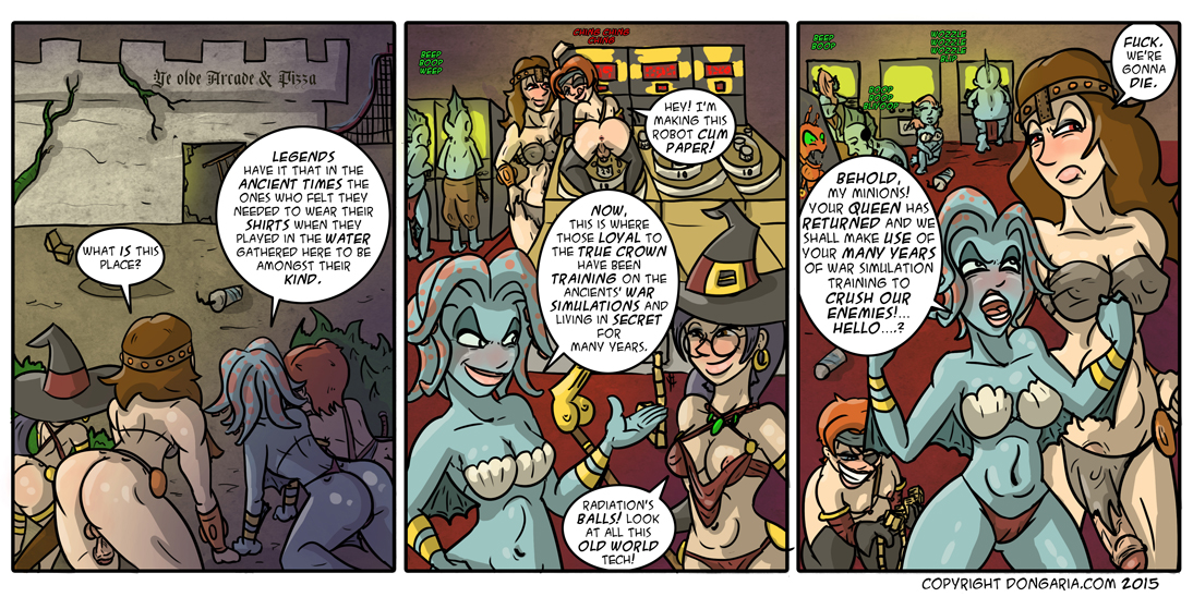 Babes of Dongaria Chapter 2 Page 9: Gathering Forces!