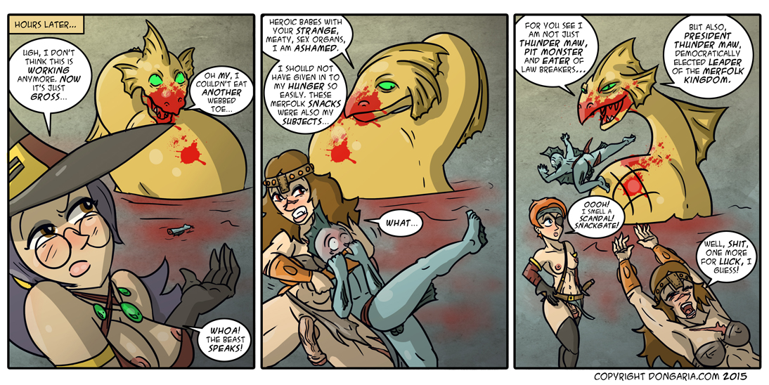 Babes of Dongaria Chapter 2 Page 16: Scandal Makers!
