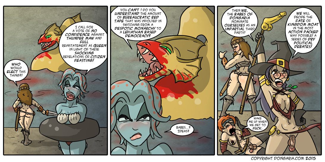 Babes of Dongaria Chapter 2 Page 17: Master Debaters