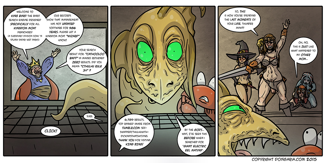 Babes of Dongaria Chapter 2 Page 27: King Bing!
